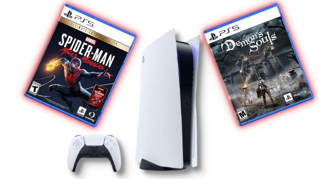 PS5-Launch-Spiele fordern viel Speicherplatz.