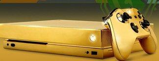 Microsoft verschenkt goldene Konsole