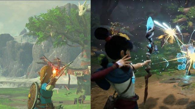 Die Optik des PS5-Spiels erinnert stark an Breath of the Wild. Doch was wird das Gameplay zu bieten haben?