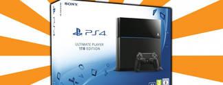 Deals: Schnäppchen des Tages: PS4 mit 1.000 Gigabyte