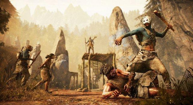 Statt Schusswaffen drückt euch Entwickler Ubisoft dieses Mal eine Keule in die Hand.