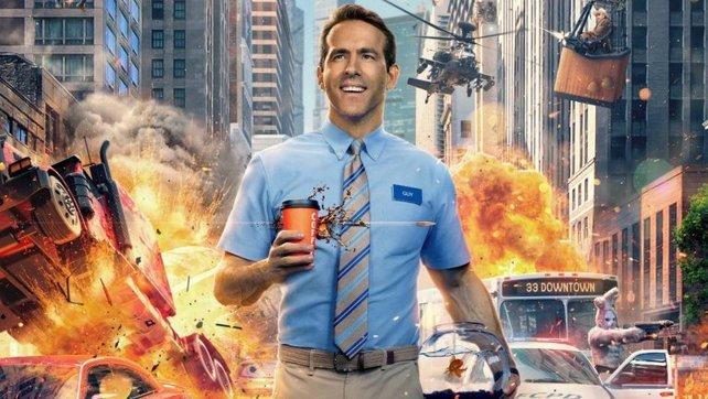 Ryan Reynolds in Free Guy: Das Leben eines ganz normalen NPC.