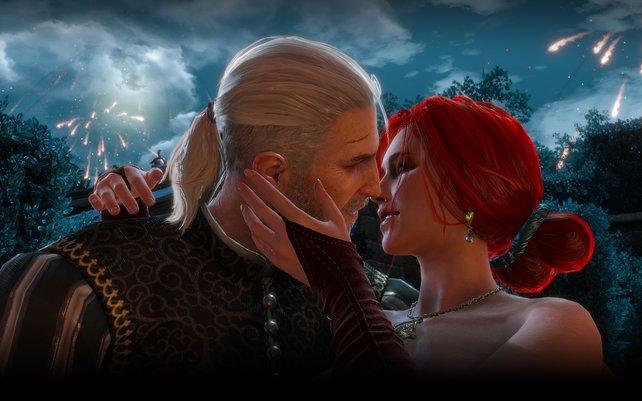 Küsst euch, küsst euch!