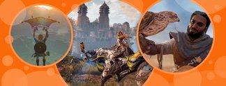 """Bilderstrecken: Die spieletipps-Redakteure verraten euch ihre """"Top 3""""-Spiele des Jahres"""