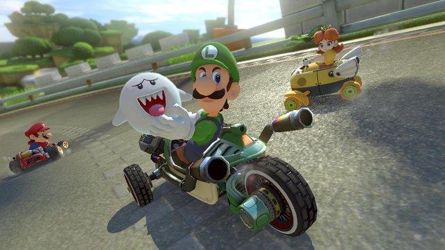 Läuft auch ohne Battle-Modus: Mario Kart 8 Deluxe.