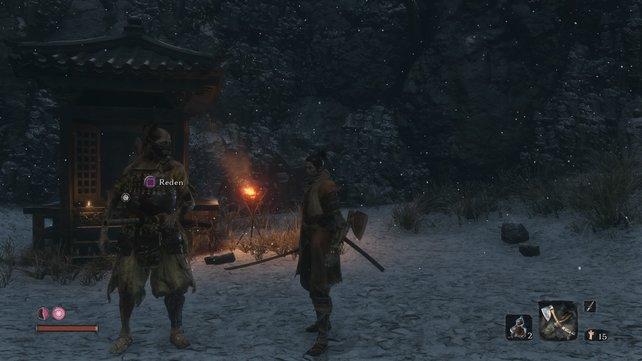 Der unsterbliche Samurai Hanbei - ein wertvoller Trainingspartner