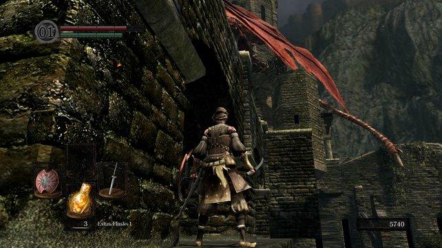 """""""Dark Souls""""-Veteranen wissen genau, was an dieser Stelle zu tun ist ..."""