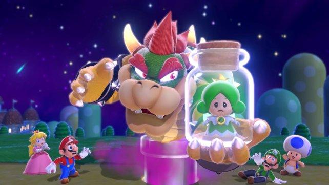 Mit unserer Komplettlösung schafft ihr es, die Feen aus Bowsers Fängen zu befreien und sammelt dabei auch noch alle Sterne und Stempel in Super Mario 3D World + Bowser's Fury.