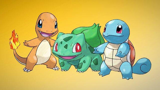 Die wohl bekannteste Starter-Formation der Pokémon-Reihe. Wo steht die 1. Generation wohl im Community-Ranking?