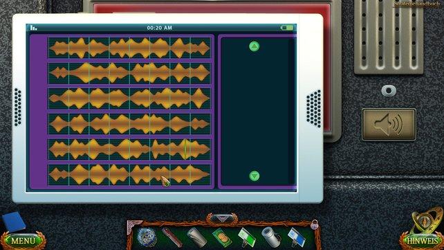 Um das Minispiel zu absolvieren, müsst ihr die Klangspuren entsprechend unseres Bilds anordnen.