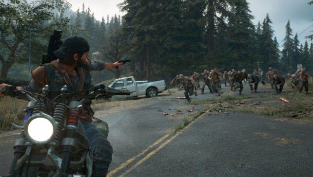 In Days Gone sind einzelne Zombies euer geringstes Problem.
