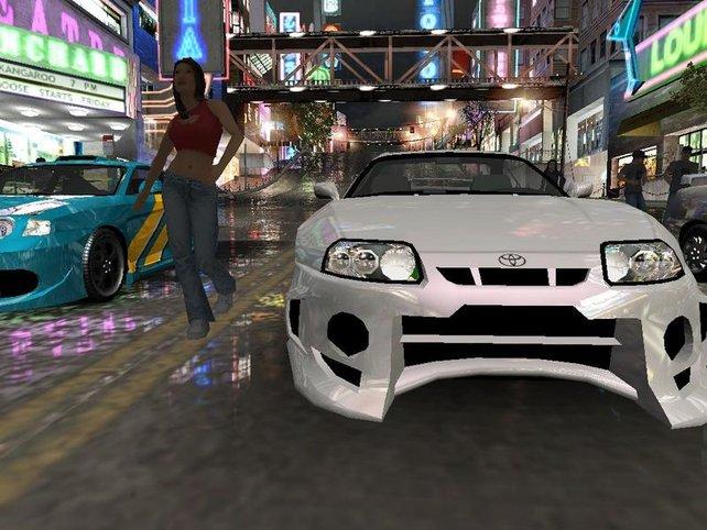 Need for Speed - Underground begeisterte Spieler mit seiner Thematik und dem Tuning. Optisch ist das Game aber nicht gerade gut gealtert.