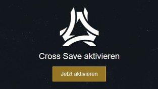 Cross-Save aktivieren und Daten übertragen