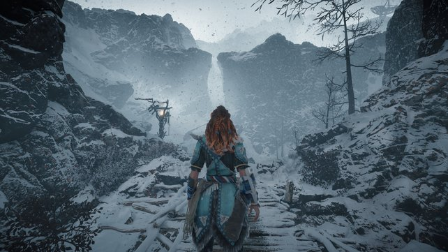 Im Winter 2017 verschlug es uns mit Horizon Zero Dawn: The Frozen Wilds zu den Banuk.