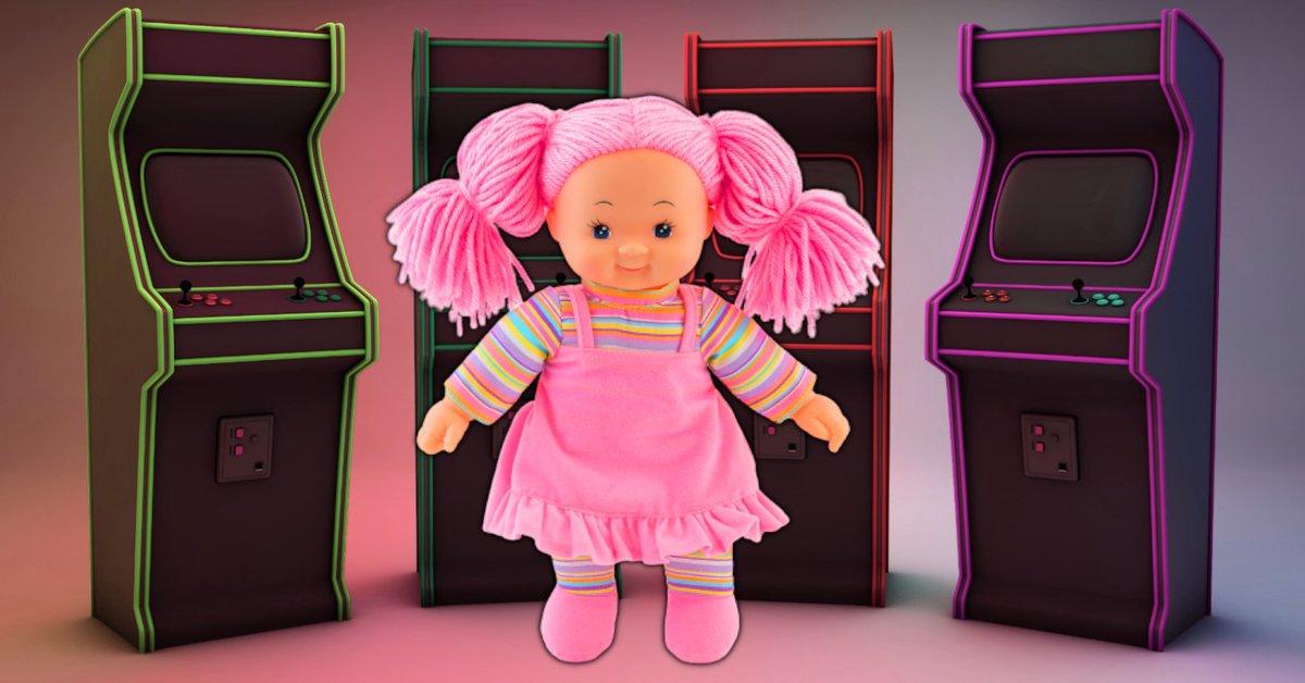 Mattel präsentiert Puppe, die Games macht