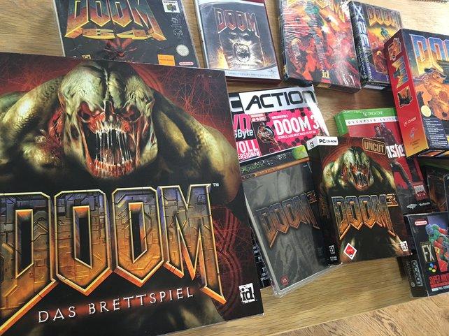 Sogar ein Doom-Brettspiel existiert.