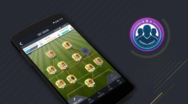 """Für die neue Fifa 17 Companion App gibt es nun die neuen """"Squad Building Challenges"""", mit vielen Belohnungen."""