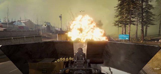 In Season 6 geht's sehr mobil zu: Spieler können in CoD: Warzone nun Fahrzeuge mit Geschütztürmen und U-Bahnen benutzen.