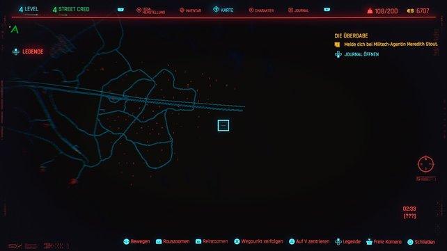 Der zehnte Cyberpsycho versteckt sich in Badlands.