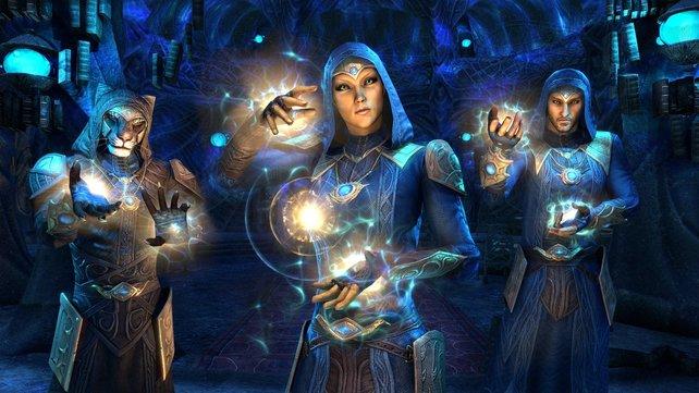 Die Magier des Psijik-Ordens haben sich auf die Manipulation der Zeit spezialisiert.