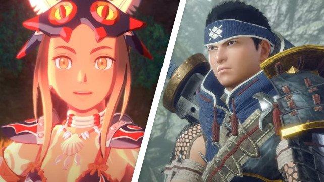Zwei neue Abenteuer bitten Monster Hunter-Fans an die Joy Cons der Switch.