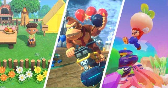"""Von Animal Crossing bis hin zu Super Mario: Einige der besten """"Nintendo Switch""""-Spiele sind nur heute noch stark reduziert."""
