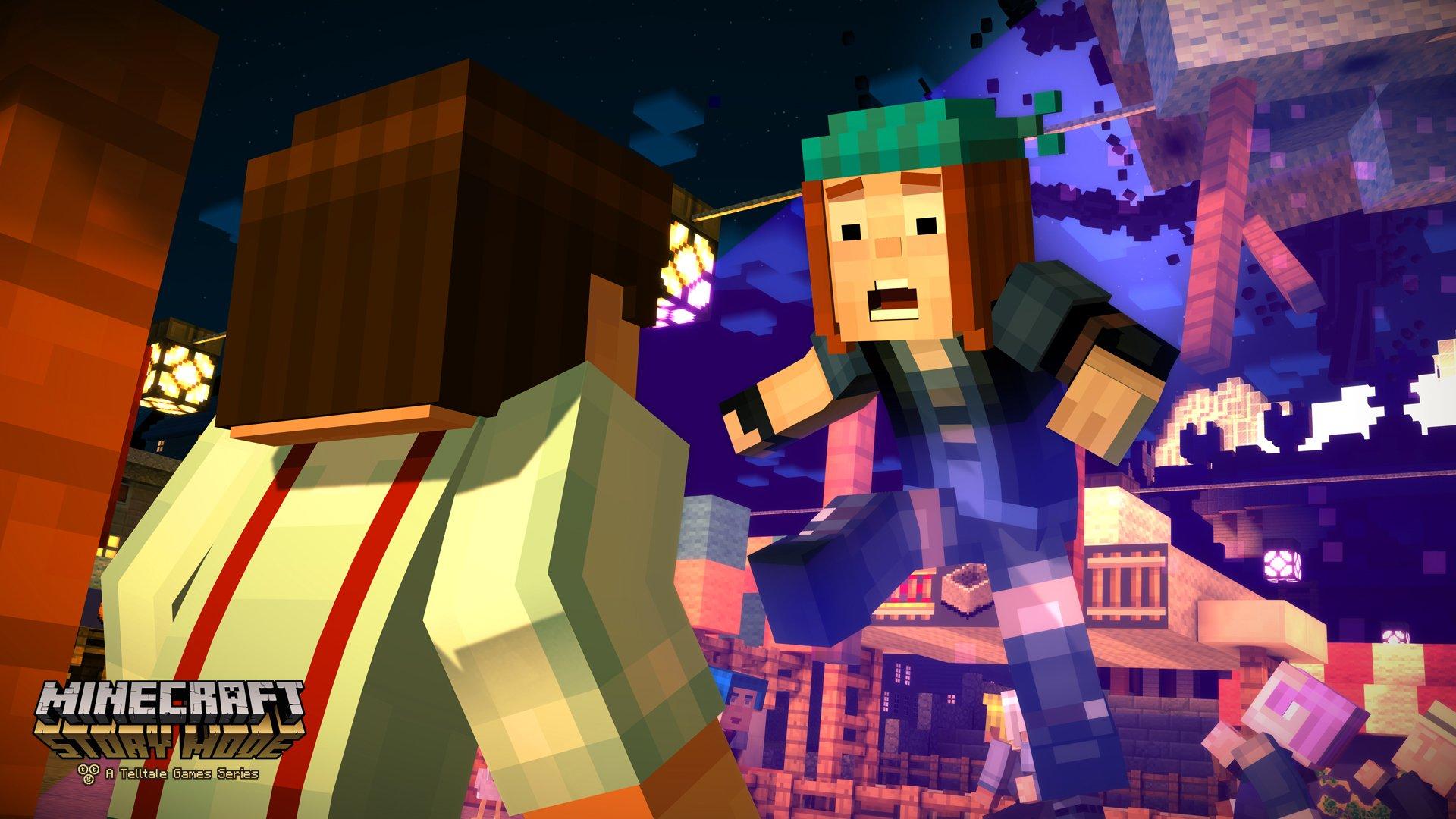 Minecraft Story Mode Bilder Spieletippsde - Minecraft wii u spieletipps