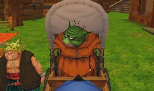 König Trode stellt euch den Alchemiekessel zur Verfügung.