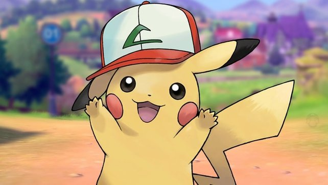 Ihr wollt ein Pikachu mit einer Kappe? Könnt ihr haben. Sogar acht an der Zahl.