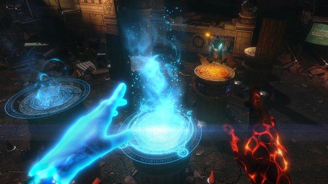 In The Unspoken dreht sich alles um packende Zauberspruch-Duelle gegen andere menschliche Spieler