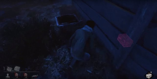 Dead by Daylight: Falltüren findet ihr oft an Außenwänden der Gebäude.
