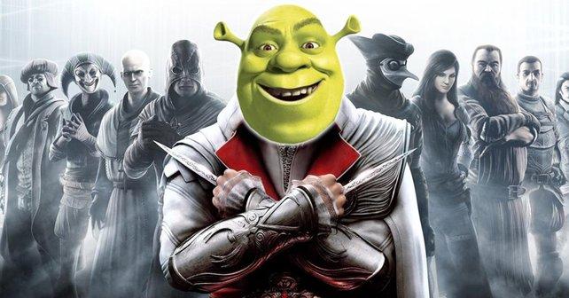 Netter Versuch - Fan versucht der Welt einen AC-Leak mit einem Bild aus den Shrek-Filmen anzudrehen.