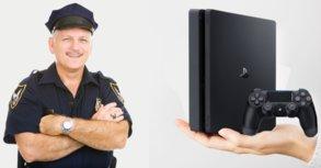 Polizisten spenden gestohlene Konsolen an ein Kinderkrankenhaus
