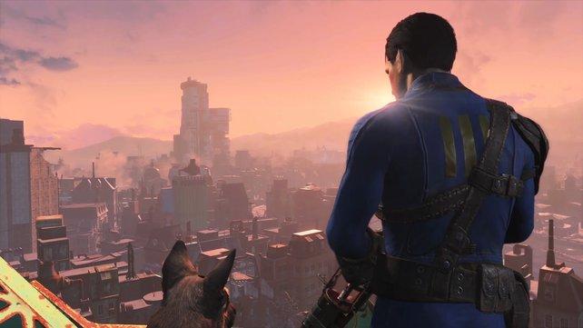 Tolles Spiel, aber leider mit magerer Geschichte: Fallout 4.