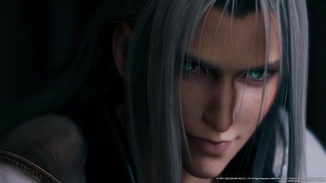 Sephiroth erscheint Cloud erneut und verkündet großes Unheil.