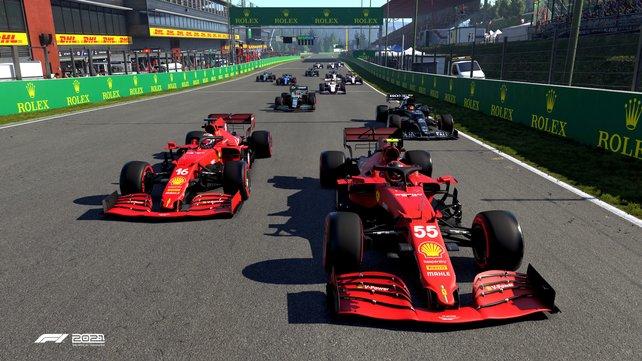 Teamarbeit: Die Zweispielerkarriere ist gänzlich neu in F1 2021.