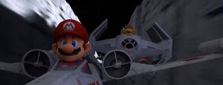 Wenn Mario Kart auf Star Wars trifft