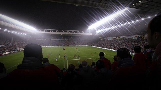 Die Atmosphäre im Stadion kann man förmlich fühlen.