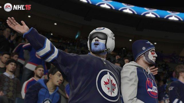 Komplett neu: EA Sports hat auch die völlig verrückten Fans in das Spiel integriert und es gibt 9.000 individuelle Fanmodelle.