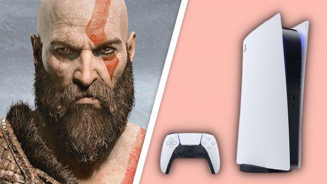 Kratos sieht auf der PS5-Version von God of War noch schärfer aus.