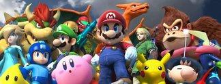 Panorama: Charaktere aus Smash Bros. tanzen und es ist schrecklich