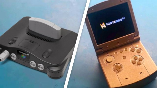 Nintendo 64: von der Heim-zur Handheldkonsole.