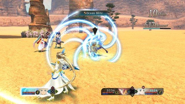Gemeinsam mit eurem Seraphim-Partner seid ihr in der Lage zu fusionieren und noch stärkere Kombo-Attacken auszuführen.