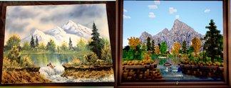 Panorama: Bob Ross inspiriert Minecraft-Bau