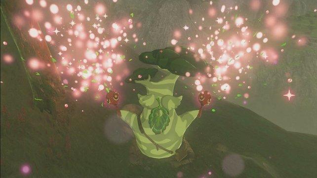 Mithilfe eines Glitches bekommt Maronus seine Samen in Windeseile