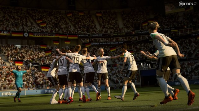 Frauen-Power! Die Nationalteams der Damen halten ebenfalls wieder in FIFA 20 Einzug.