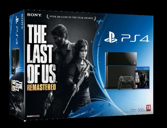 So sieht die Packung des neuen PS4-Pakets aus.