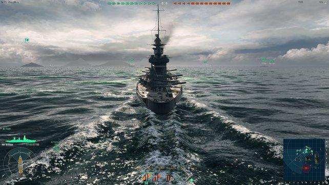 Ist ein Schlachtschiff mal in Fahrt, lässt es sich kaum noch aufhalten.