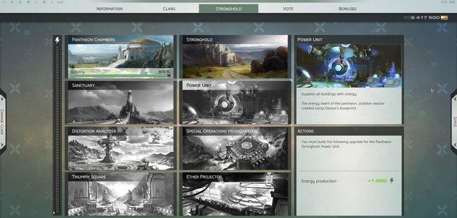 Eine aktive Gilde bzw. Pantheon liefert euch tolle Boni und weitere Möglichkeiten im Spiel.