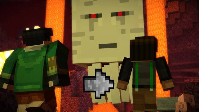 Minecraft Story Mode Episode Assembly Required Komplett Gelöst - Minecraft story mode spieletipps
